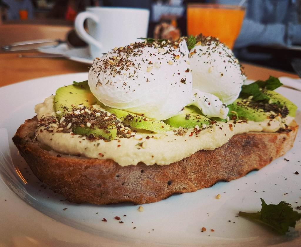 dinette śniadanie