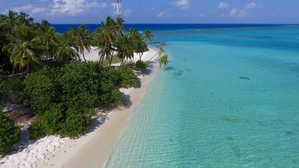 Luau Beach Inn na wyspie Fulidhoo, źródło: bookin.com