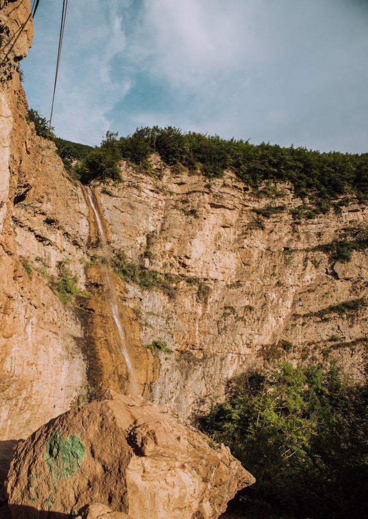 quba azerbejdżan wodospad
