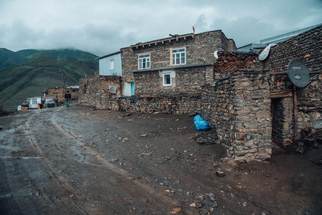 wioska w górach quba